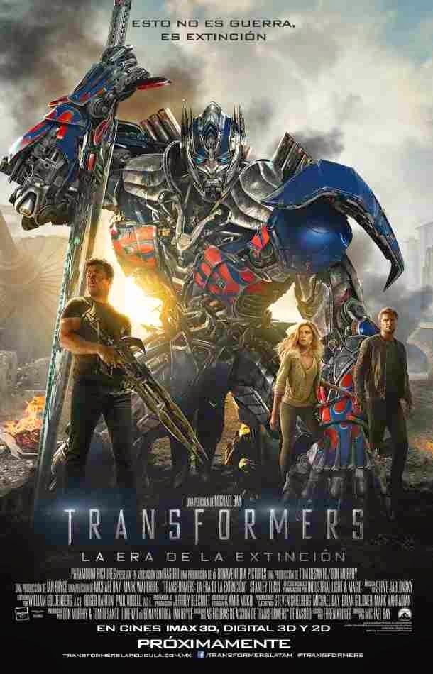 Transformers (4): La era de la extinción