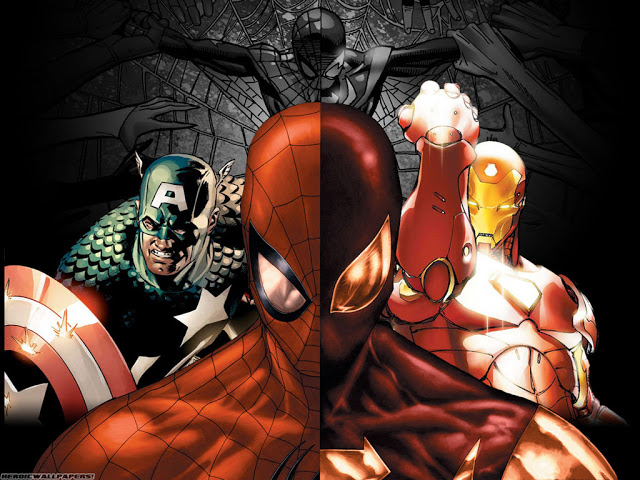 Marvel Civil War completa en español
