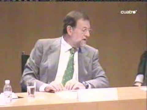 Rajoy, su primo y el cambio climatico.
