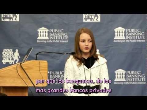 La niña de 12 años que nos explica cómo roban los bancos