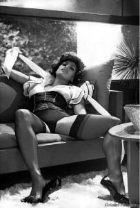 Fotos de Eva Mendes en la revista vogue y más