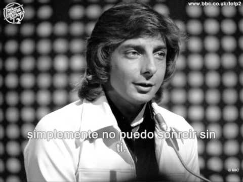 CANCIÓN DEL DÍA : Can't smile without you – Barry Manilow