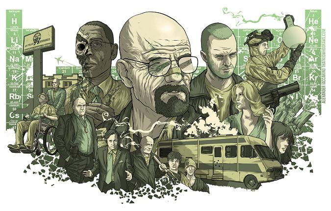 Pedazo de wallpaper de Breaking Bad