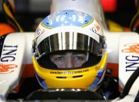 Fernando Alonso el más rápido en su primer Test