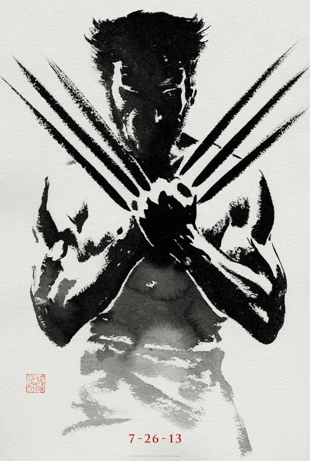 Teaser poster de The Wolverine, poster y red band trailer de Hansel y Gretel: Cazadores de brujas y el Doctor Who se va de ligue