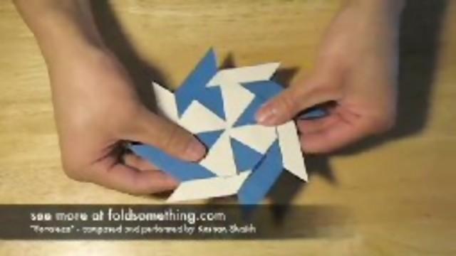 Cómo hacer un Origami Sol