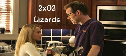 """Heroes 2×02 """"Lizards"""", Sinopsis"""