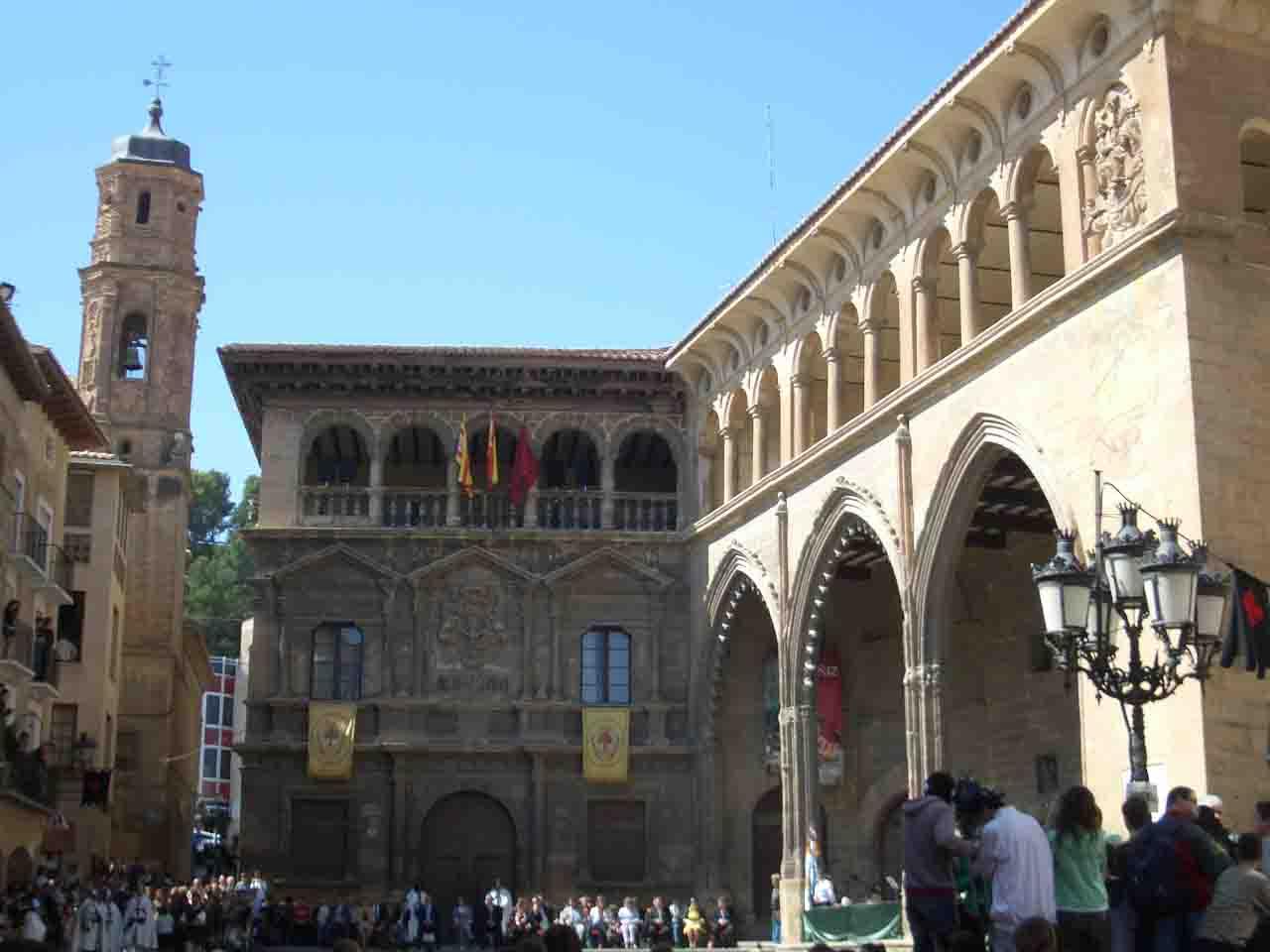 Vencimiento del Dragón de San Jorge en Alcañiz