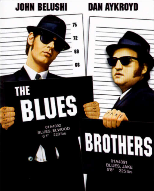 Granujas a todo ritmo (1980) (The Blues Brothers)