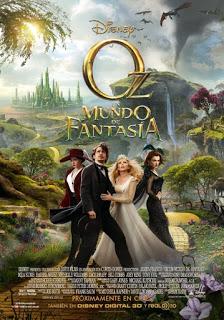 Oz: un mundo de fantasía (de Sam Raimi)