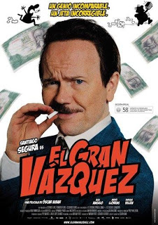 El Gran Vázquez con Santiago Segura
