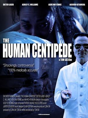 "Trailer ""The human centipede"""