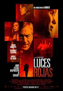 Luces rojas de Rodrigo Cortés, con Robert de Niro, Sigourney Weaver y Cillian Murphy