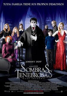 Sombras Tenebrosas (Dark Shadows) de Tim Burton