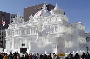 Esculturas de nieve