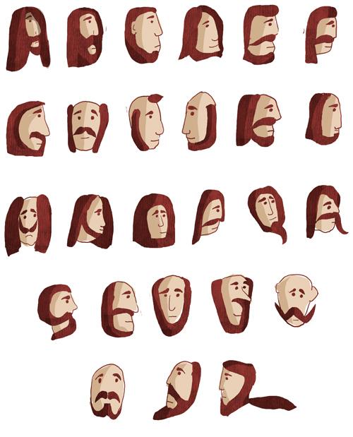 Alfabeto barbudo