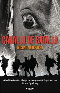 Cavall de guerra/Caballo de batalla de Michael Morpurgo