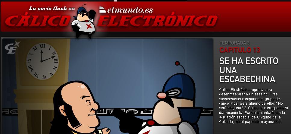 Cálico Electrónico, estreno tercera temporada