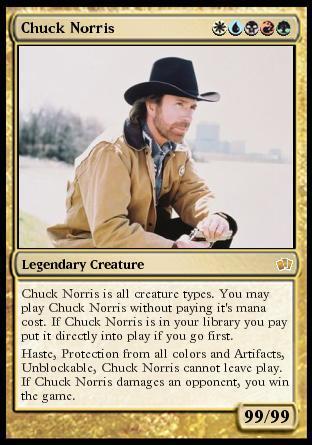 Chuck Norris, hechos