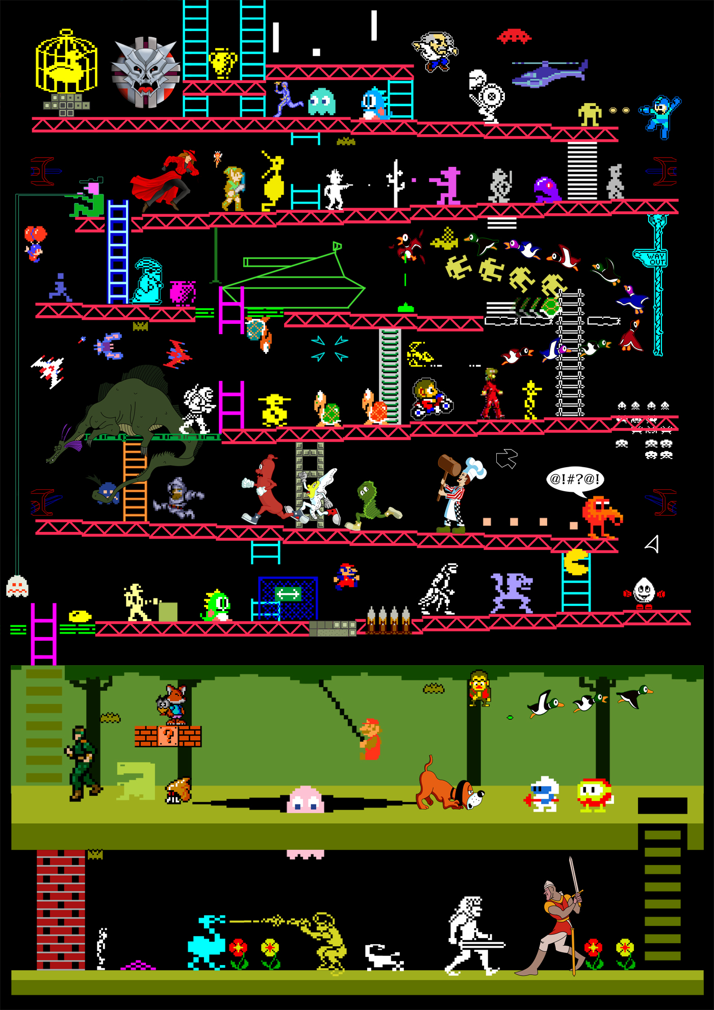 Arcade Games Mashup