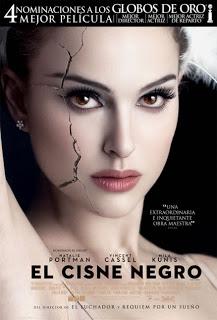 Cisne Negro de Darren Aronofsky y con Natalie Portman