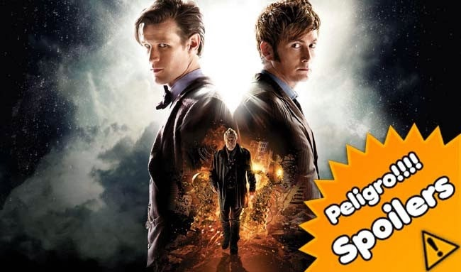 An adventure in space and time y The day of the doctor