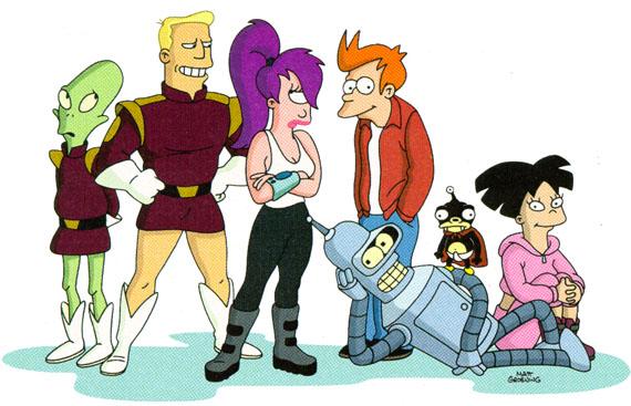 Futurama 1ª temporada completa [Online]