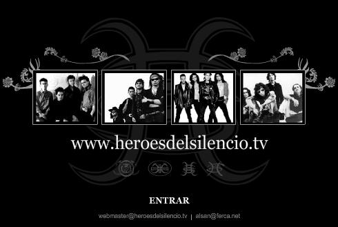 Todos los conciertos de Heroes del Silencio