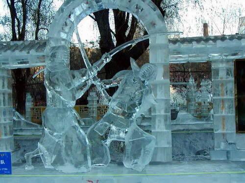 Fotos de esculturas en hielo