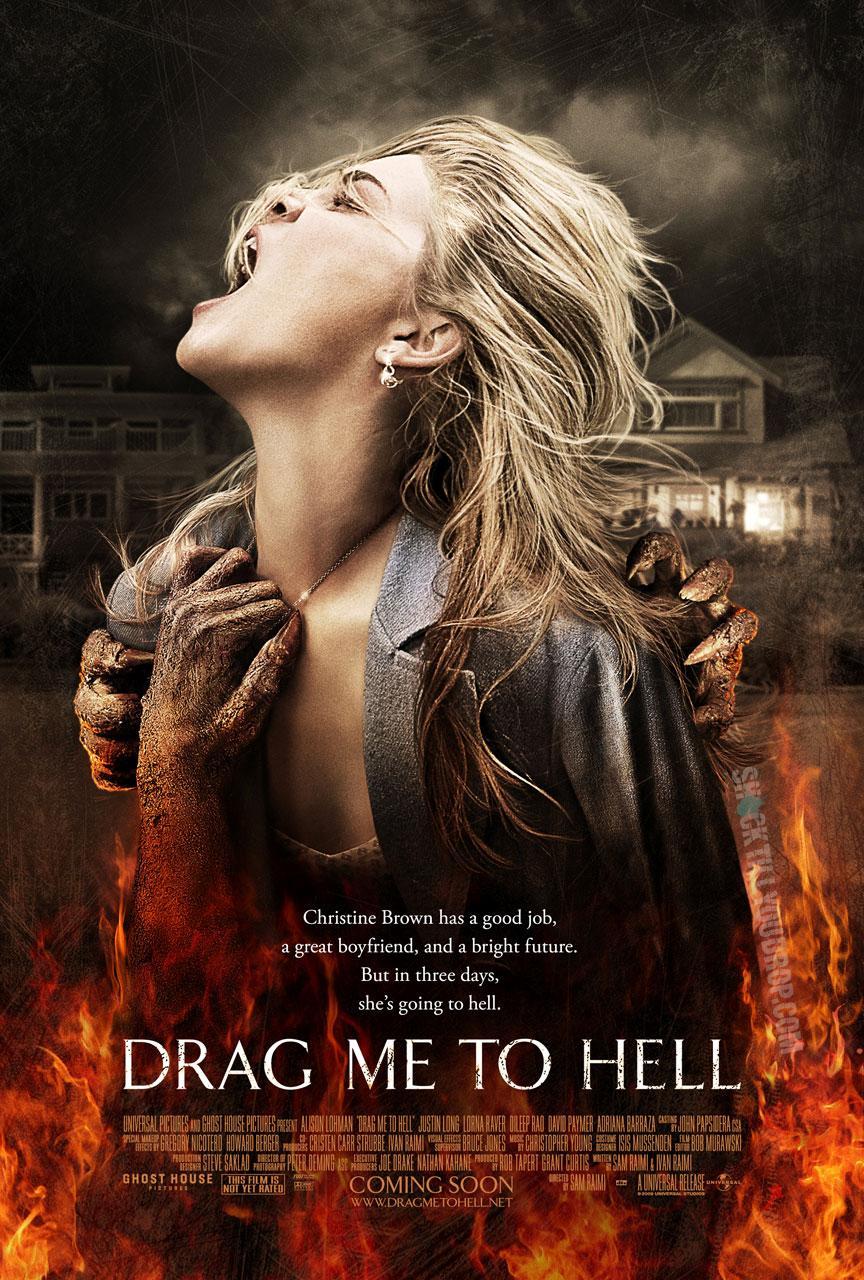 Arrástrame al infierno, estreno 31 de julio (web en español y página en Facebook)