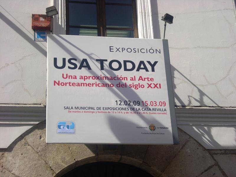 Frikeando en… Valladolid [Exposición USA Today]