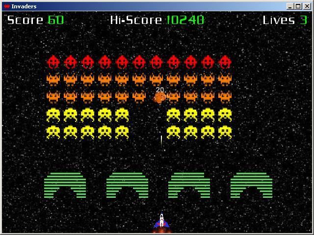 Felicidades Space Invaders, 30 años