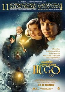 La invención de Hugo, una hermosa historia para recordarnos porque amamos el cine