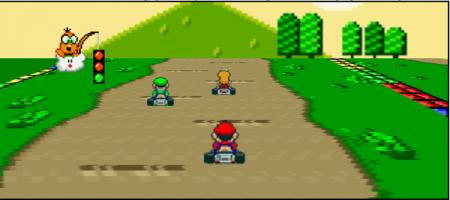 Juegos: Mario Kart en java
