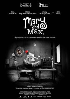 Mary y Max (probablemente la mejor película de animación del año)