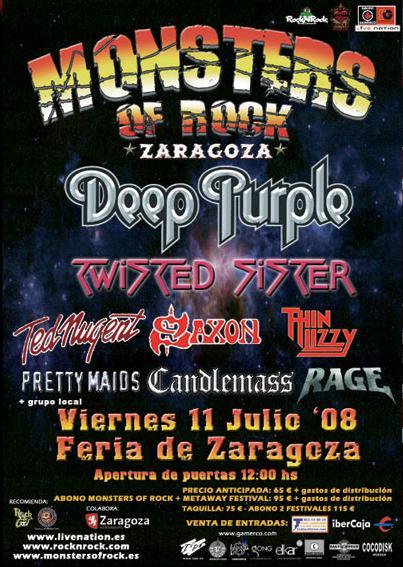 Monsters of Rock & The Metalway Festival 2008