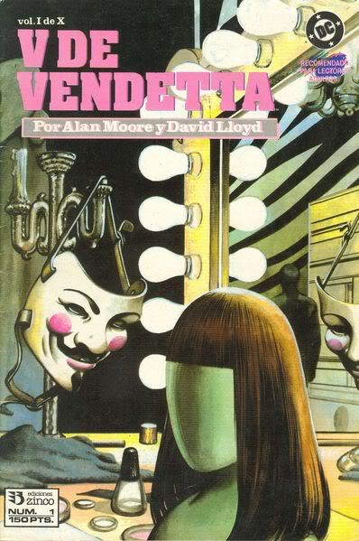 P.O.M. V de Vendetta (V for Vendetta)