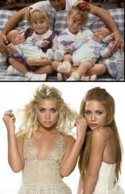 Mary-Kate y Ashley Olsen, antes y después