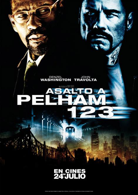 Asalto al tren Pelham 123 con John Travolta y Denzell Washington