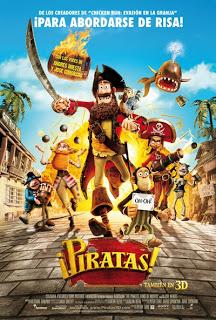 ¡Piratas! (de los creadores de Chicken Run)