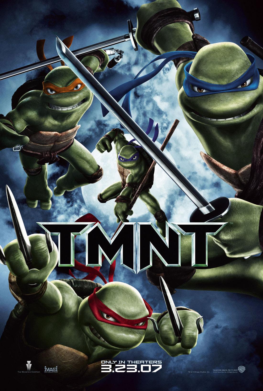 Película Online: TMNT (Tortugas Ninja Jóvenes Mutantes 2007)
