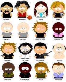 Prison Break al estilo South Park