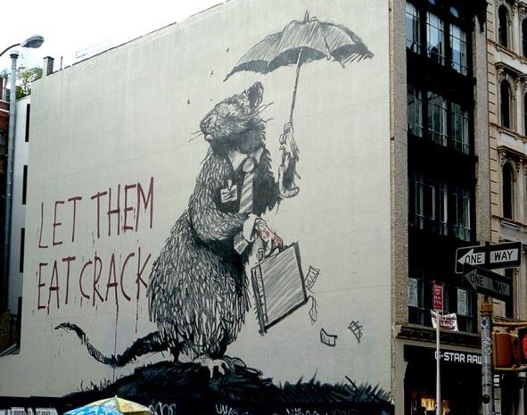 De Banksy a Wall Street, con amor