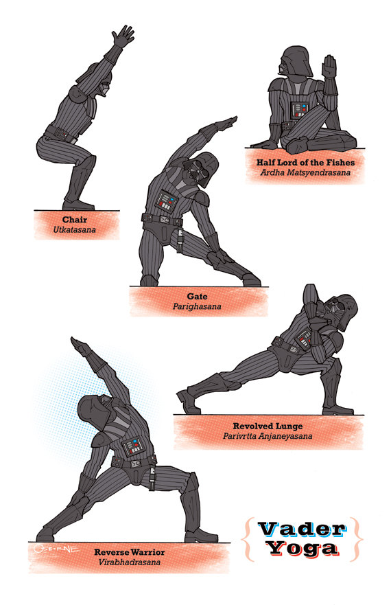 Linkos Star Wars Yoga Edition