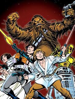 Colección de comics de Star Wars (y concurso de la misma en El blog del Chacal)