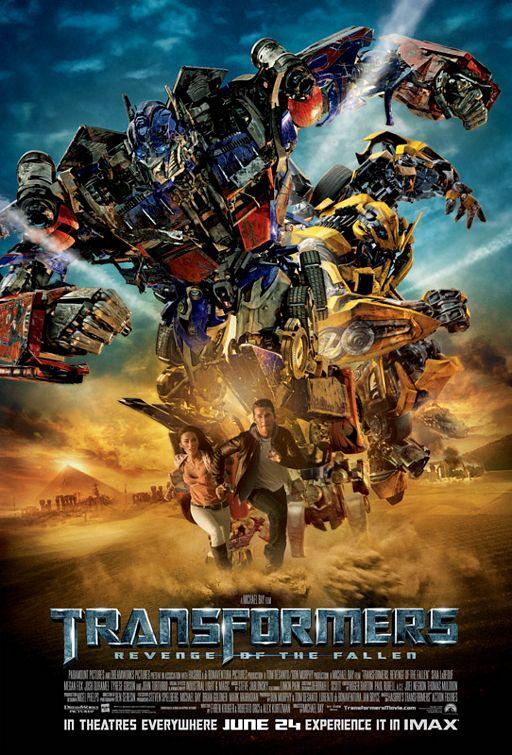 Transformers 2: La venganza de los caidos de Michael Bay