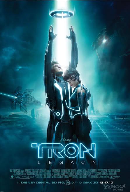 Tron Legacy: Poster final, superhéroes Marvel al estilo Tron y anticipo de 20 minutos del film