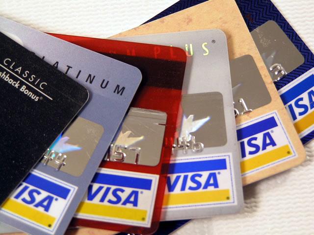 Cuidado con las tarjetas de crédito